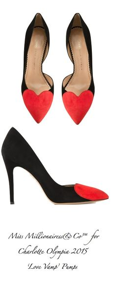 Charlotte Olympia 2015 'Love Vamp' Pumps |  shoes  i