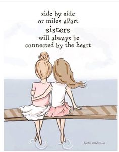 "108 Sister Quotes And Funny Sayings With Images ""Little sisters remind big sisters how wonderful it is to play in the sand. Big sisters show little sisters Bff Quotes, Family Quotes, Cute Quotes, Funny Quotes, Heart Quotes, Wall Quotes, Sisters Forever, Friends Forever, Love My Sister"