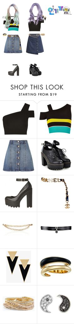 """""""[Unit Debut] CUPID - I Like It : Debut Stage Inkigayo"""" by cherryblossoms-official ❤ liked on Polyvore featuring TIBI, River Island, Anita & Green, Chanel, Maison Mayle, Fallon, Yves Saint Laurent, Michael Kors, Torrid and Sydney Evan"""