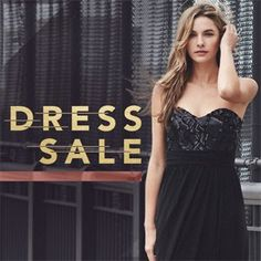 DRESS SALE. 1,000 steals. 1,000 low prices