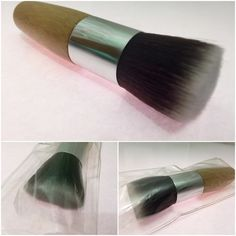 Brand new! KABUKI brush! Kabuki brush brand new! Still in plastic Made of bamboo and great quality synthetic hair! Very soft and blends well! Great for foundation, contouring and highlight face! Makeup Brushes & Tools