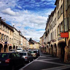 Les arcades, Remiremont, Vosges
