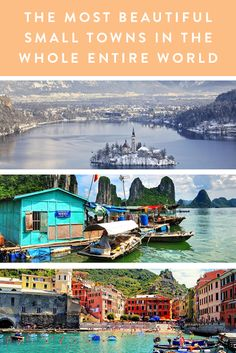11 Insanely Beautiful Small Towns From Around the World via @PureWow