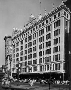 Cleveland - The Vintage Photo Thread; The May Company Building in 1941