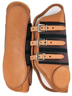 MEDIUM 3 BUCKLE LEATHER SPLINT BOOT by Lami-Cell. $48.00. Leather splint boot with three buckles.