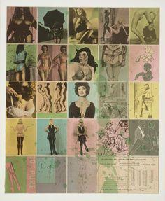 One Way Traffic by Allen Jones, 1974Also