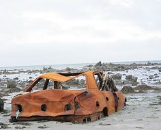 England beach car
