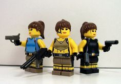 Great Female Lego Figures Lara Croft