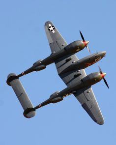 /by mvonraesfeld #flickr #plane #ww2 #P38 #Lightning