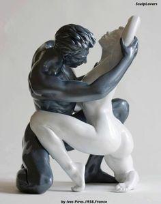 Desire - by  Ives Pires.1958.France — with Ernest Pavel, Marie Delaporte, Medea Mamisti, Manana Ratishvili,.