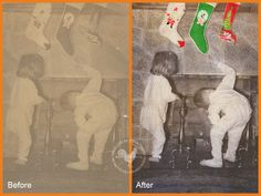 Restore old photos in Photoshop Elements with this video tutorial and a free action.  This would make grandma very happy....