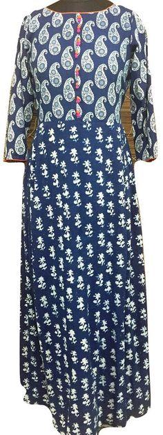 Indigo Zing Dress