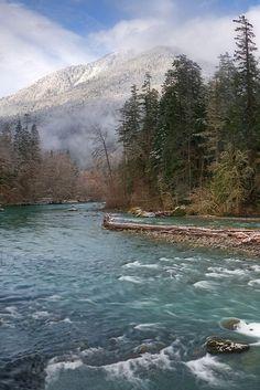 Elwha River, National Park, Washington