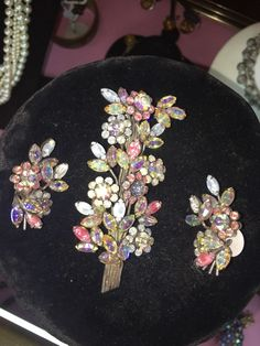 Vendome Brooch And Earrings #Vendome
