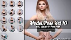 Simsworkshop: Model Pose Set 10 by ConceptDesign97 • Sims 4 Downloads