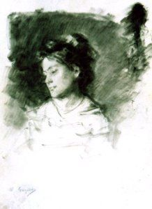 Nicolae Grigorescu(15 mai 1838, Pitaru, Dâmboviţa-21 iulie 1907, Câmpina) | G a b i, My heart to your heart Female Head, New Art, Artwork, Europe, Work Of Art, Auguste Rodin Artwork, Artworks, Illustrators