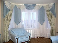 Nice curtains for living room living room curtain design ideas dream house experience curtain ideas for Colourful Living Room, Living Room Green, Beautiful Living Rooms, Living Room Modern, Living Room Designs, Unique Curtains, Cool Curtains, Custom Drapes, Window Curtains