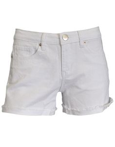 Boyfriend Shorts White by Living Doll. Easy Spring style!