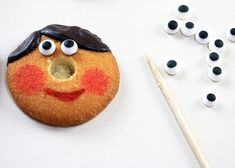 Easy No-Bake Pinocchio Cookies