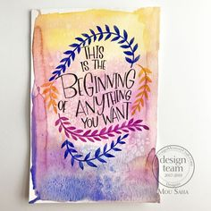Word Art with Modern Calligraphy Kit Calligraphy Kit, Modern Calligraphy, Art Stand, Welcome Card, Artist Pens, Tin Art, Buy Art Online, Mixed Media Canvas, Art Journal Inspiration