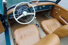 1961 MERCEDES-BENZ 190 SL ROADSTER - Interior - 196148