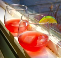 Pomegranate margaritas | from Christen in the Kitchen
