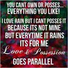 Love & Possession