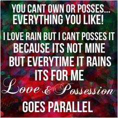 Love & Possession