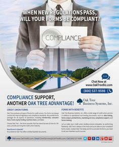 Oak Tree is featured on the #CUJournal #regulatory & #compliance issue #formsprovider #creditunionindustry