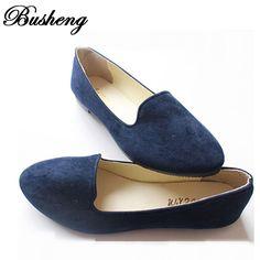 competitive price b0985 07fa8 6.27  Aliexpress.com  Comprar Zapatos de las señoras de Pisos Zapatillas de  Ballet Zapatos Planos de La Mujer Bailarinas Negro Tamaño Grande 43 Zapato  ...