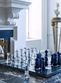 Glass Chess Set, Luxury Chess Sets, Art Through The Ages, Lumber Storage, Tsumtsum, Kings Game, Chess Pieces, Chess Boards, Cork Boards