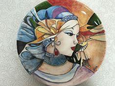 825c46bd7ca75e33b79f30738026d719.jpg (736×551) Ceramic Art, Ceramic Painting, Ceramic Plates, Ceramic Pottery, Silk Painting, China Painting, Clay Design, Devin Art, Hand Built Pottery