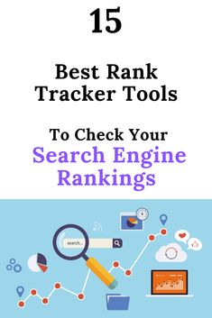 It's crucial to check your website rankings in the SERPs to understand your growth. Here are the best rank tracker tools that you can use to track yours. What Is Internet, What Is Search Engine, Social Media Usage, Seo Basics, Online Marketing, Affiliate Marketing, Digital Marketing, Seo Tutorial, What Is Seo