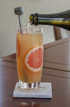 Food Lust People Love: Mother's Ruin (Gin) Punch #SundaySupper