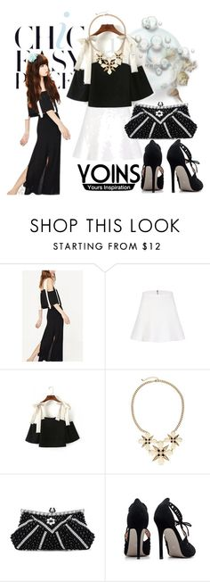 """""""Yoins top"""" by irinavsl ❤ liked on Polyvore featuring yoins"""