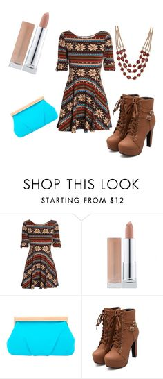 """Aztec angel "" by lydiaviolet ❤ liked on Polyvore featuring Club L, Trina Turk and Lucky Brand"