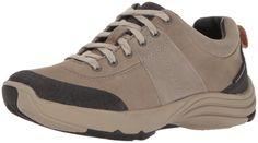 9e04c8da4a6c8d CLARKS Womens Wave Andes Walking Shoe Sage Nubuck 6.5 W US  gt  gt  gt