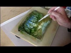 A speeded-up painting demonstration showing how I paint a woodland stream using watercolour. The finished painting is 7 x 5 inches on Bockingford water. Watercolor Video, Watercolor Trees, Watercolour Tutorials, Watercolor Techniques, Art Techniques, Watercolour Painting, Painting & Drawing, Watercolors, Painting Process