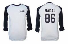 Nadal 86 Shirt Rafael Nadal Tshirt Mens Gift Womens by NoFoolTee