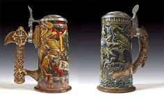 If I drank beer, it would only be out of these Warhammer steins.