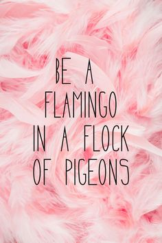 Be a flamingo ♥️ Art Print by Gabi Davis | Society6