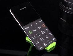 Gsm Ultra Thin Button Bluetooth Mini Cellphone