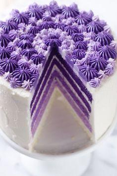 Purple Yam Cake -Filipino Inspired
