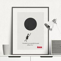 Poster Quote  Albert Einstein  Art Print Minimalist Poster