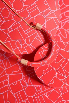 A new collaboration finds the LA-based jewelry designer Sonya Gallardo interpreting Dusen Dusen's statement-making patterns into an easy-to-wear accessory.