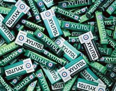 Sugar-free gum with Xylitol helps prevents the harmful bacteria in your mouth from metabolizing sugar thus preventing cavities from forming on your teeth! If you can't brush after a meal you should chew Sugar-free gum with Xylitol.
