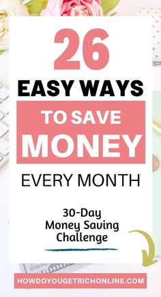 21+ Ways to Save Your Money & Not Spend it for a Month (Life Changing). I will share 26 golden tips on how to save your money and not spend it for a month. Money saving tips. Earn More Money, Save Your Money, Ways To Save Money, How To Make Money, Money Tips, Saving For College, Money Saving Mom, Savings Challenge, Money Saving Challenge