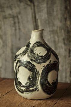 yoko komae's clay work, whirling tides.