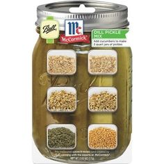 Jarden Home Brands 2Qt Ball Dill (Green) Pickle Mix 1440075002 Unit: Each Contains 12 per case