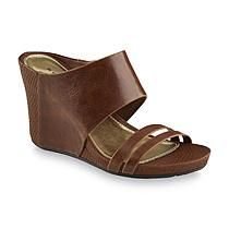 Metaphor Women's Asia Cognac Wedge Sandal
